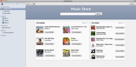 doubleTwist añade una tienda de música a sus funcionalidades