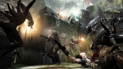 'Aliens vs Predator' y el salvaje vídeo de su modo Survivor