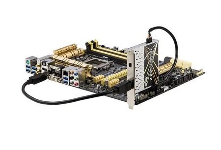 ASUS hace oficial tarjetas ThunderboltEX II, velocidades de hasta 20 Gb/s