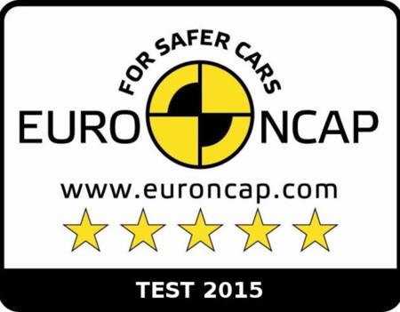 Euroncap Logo 5 Estrellas