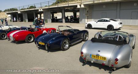 Participamos en el 7º Encuentro Europeo Cobra con el nuevo Ford Mustang
