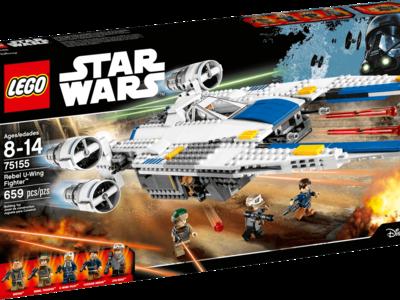 Rebel U-Wing Fighter de Lego Star Wars por 59 euros en Amazon