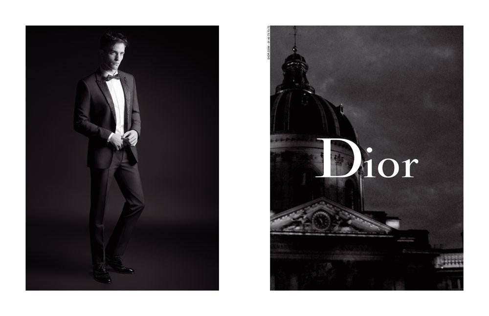 Foto de Campaña de Dior Homme con Robert Pattinson (1/3)