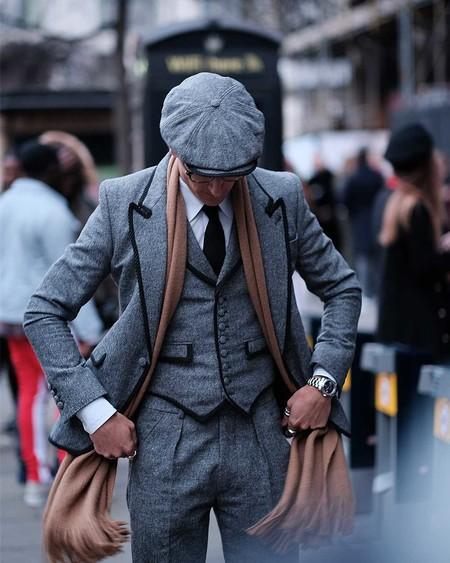 Los Hombres Mas Elegantes De Londres Le Hacen Frente Al Frio Con La Armadura Perfecta El Abrigo 05
