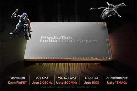 Mediatek Helio G90t Chipset