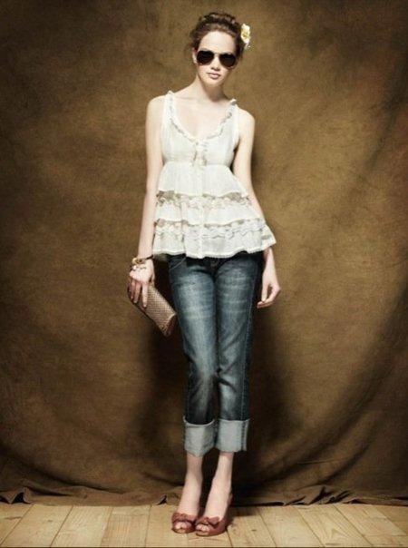 Colección Blanco Pre-Fall 2010: tonos apagados en la ropa antes del otoño V