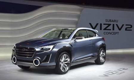Subaru Viziv 2 concept, nuevo híbrido enchufable japonés presente en Ginebra