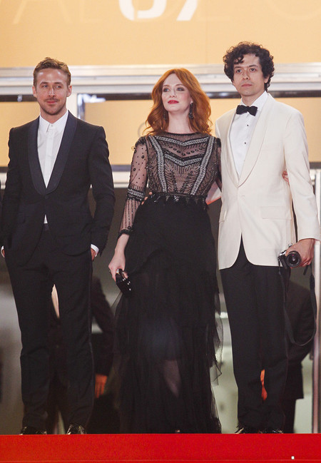 Ryan Gosling Gucci Christina Hendricks
