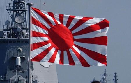 Bandera del sol naciente.