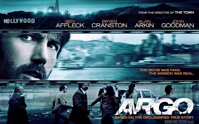 Imagen con un cartel de la película 'Argo'