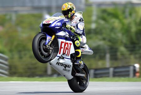 Rossi Malasia Motogp 2010