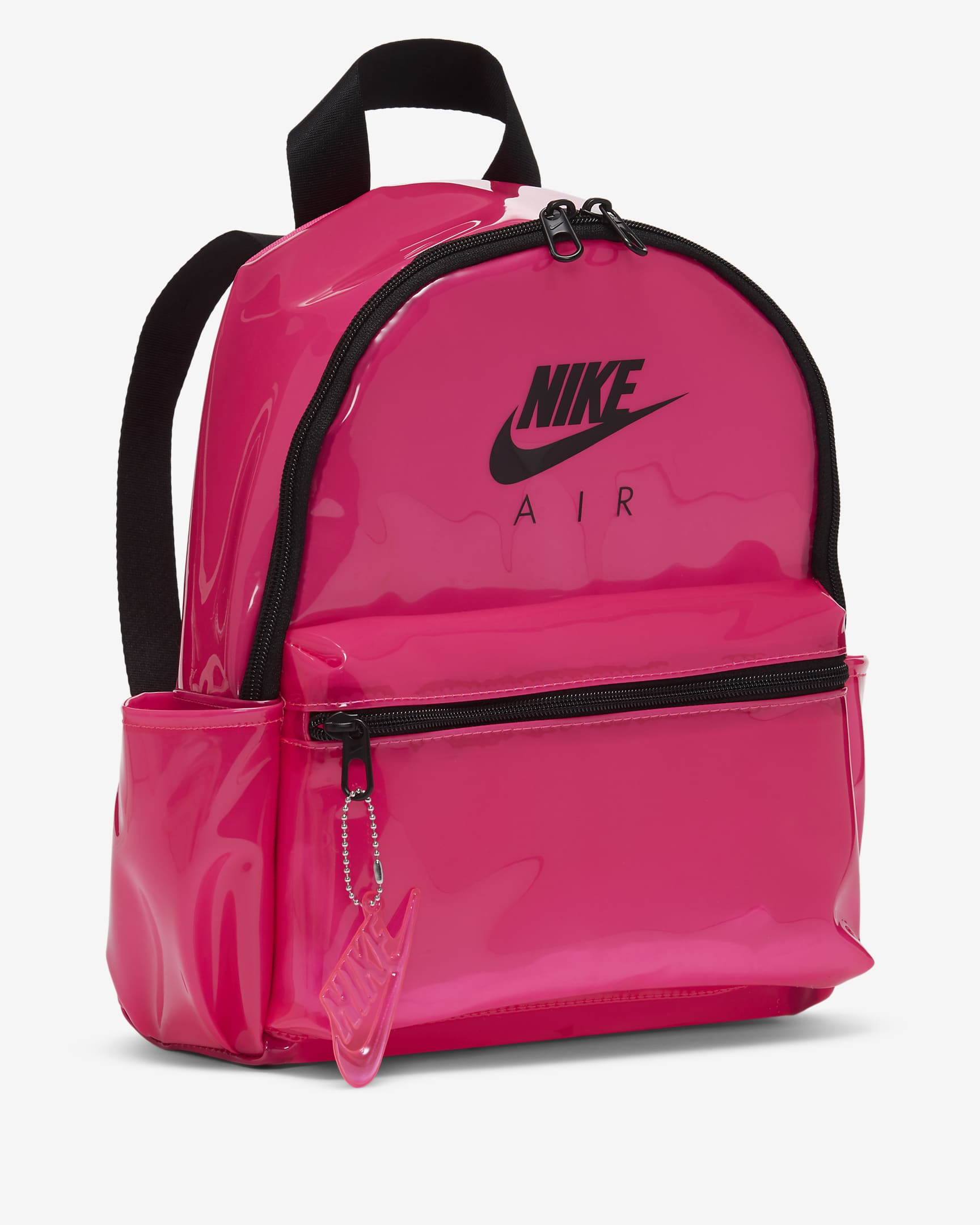 Mochila rosa con transparencias just Do It