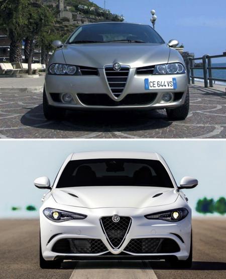 Alfa Romeo Giulia 156