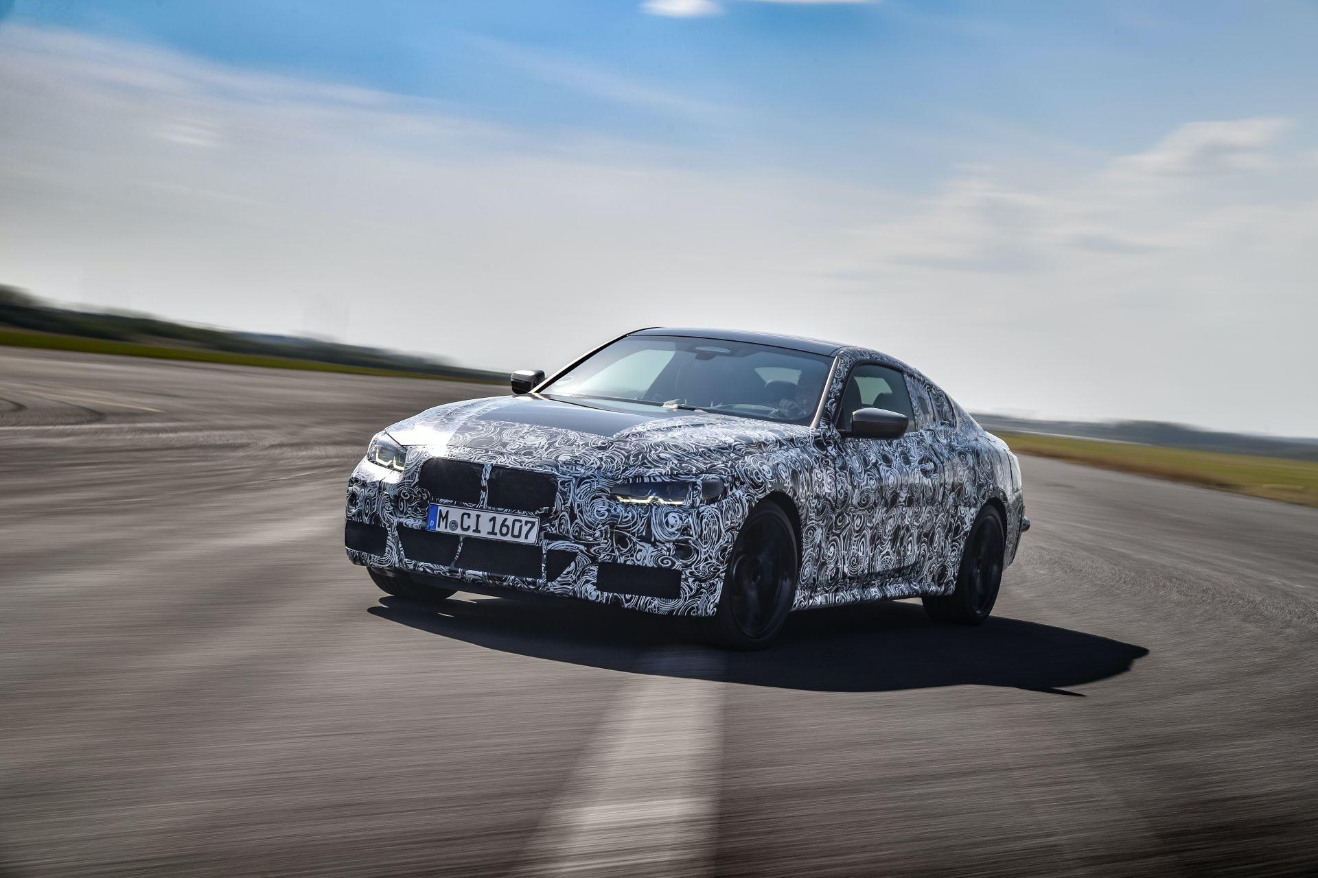 Foto de BMW Serie 4 2021 (fotos espía) (13/38)