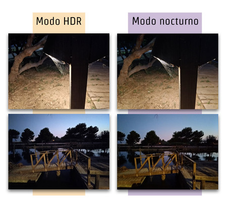 Asus Zenfone Zoom S Comparacion Modos Noches