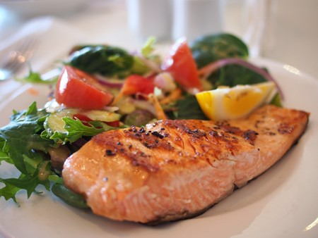 Close Up Dinner Fish 46239