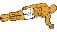 Guía de ejercicios abdominales (XXVI): Puente lateral dinámico