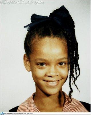 Rihanna niña