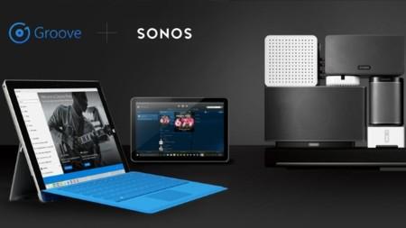 Groove Music añade soporte para los sistemas de audio Sonos