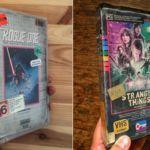 Este genio crea increíbles cajas de VHS llenas de nostalgia para series y películas actuales