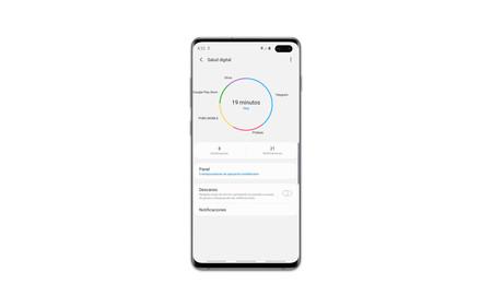 Samsung Galaxy S10plus Salud Digital