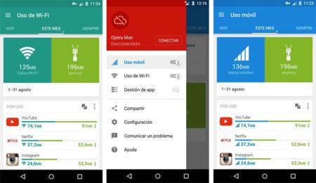 Opera Max para Android