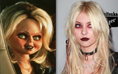 Taylor Momsen se 'disfraza' de muñeca diabólica