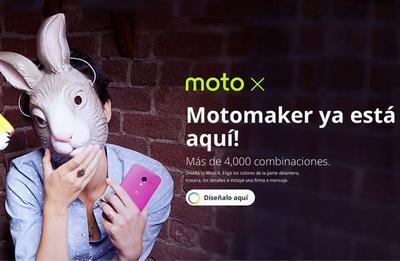 Moto Maker, detalles de servicio en México