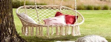 Las hamacas más bonitas para dormir la siesta de La Redoute, Made y Lidl
