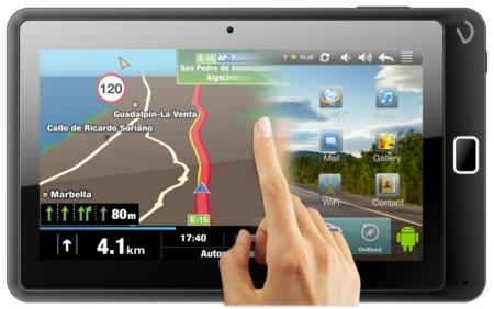 Vexia Navlet 2, un tablet que se gusta más en el coche
