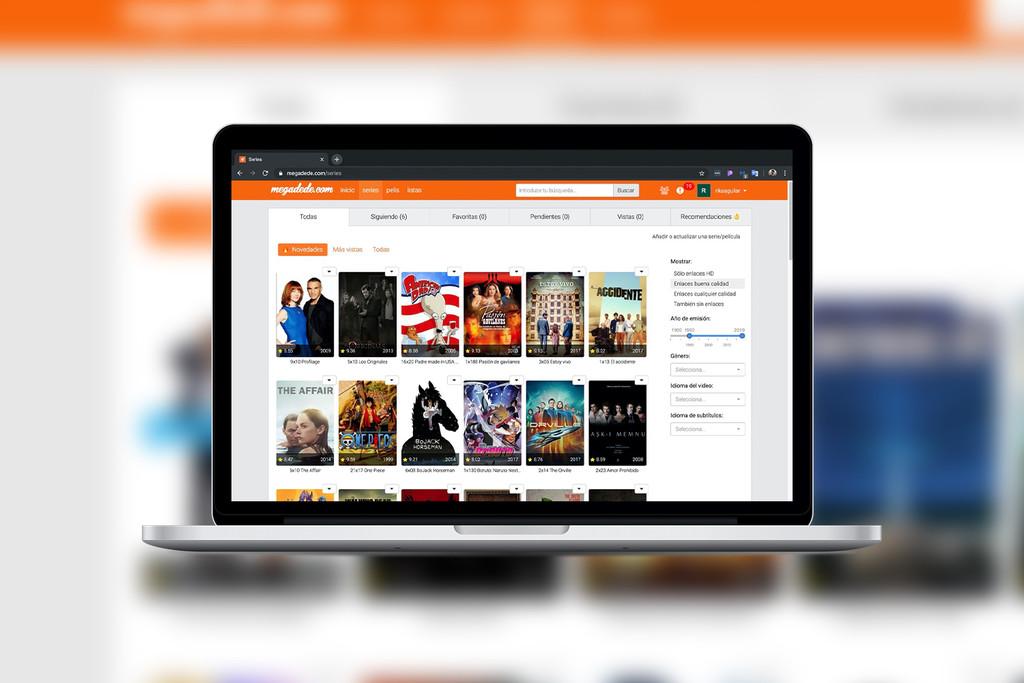 Megadede y otras nueve webs para ver películas y series online