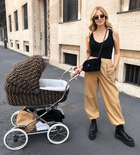 El carísimo carrito de bebés de Fendi que tiene obsesionadas a Kylie Jenner y a Chiara Ferragni
