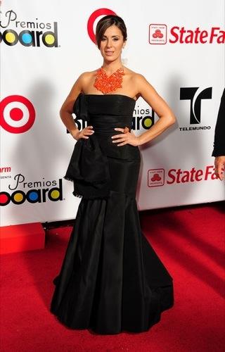 Catherine Siachoque. Latin Billboard 2009: todos los looks