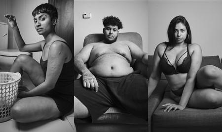 'Rock Your Ugly', de Waleed Shah, retratando las inseguridades de las personas a través de sus cuerpos nada perfectos