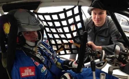 Carlos Sainz prueba el Volkswagen Polo de Rallycross.. ¿para los X-Games?