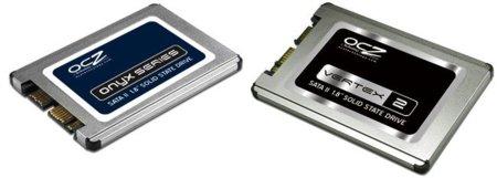 OCZ presenta dos SSD de 1.8 pulgadas, minúsculos pero potentes
