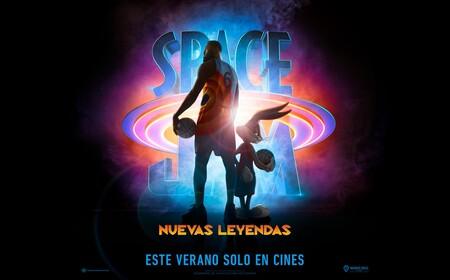 Cartel Space Jam Nuevas Leyendas