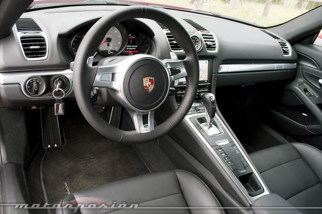 Porsche Cayman S, prueba