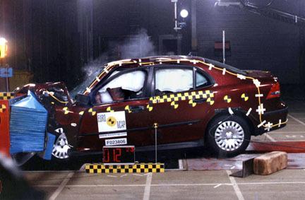 Saab 9-3 EuroNCAP