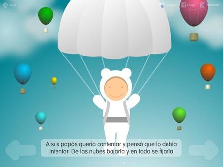 Los cuentos personalizables para el iPad de Portfolio Multimedia son para leer con los peques
