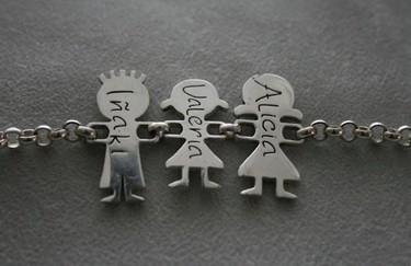 Joyas de familia, tus seres queridos en una pulsera