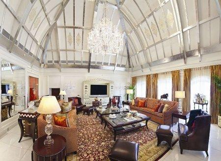 La Tata Suite del hotel 'Taj Mahal Palace' de Bombay