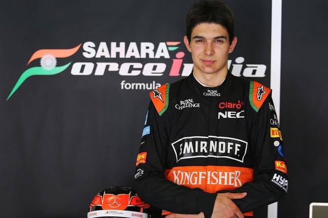 Esteban Ocon será titular en Force India junto a Checo Pérez