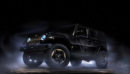 Jeep Wrangler Dragon, concept car para el mercado chino