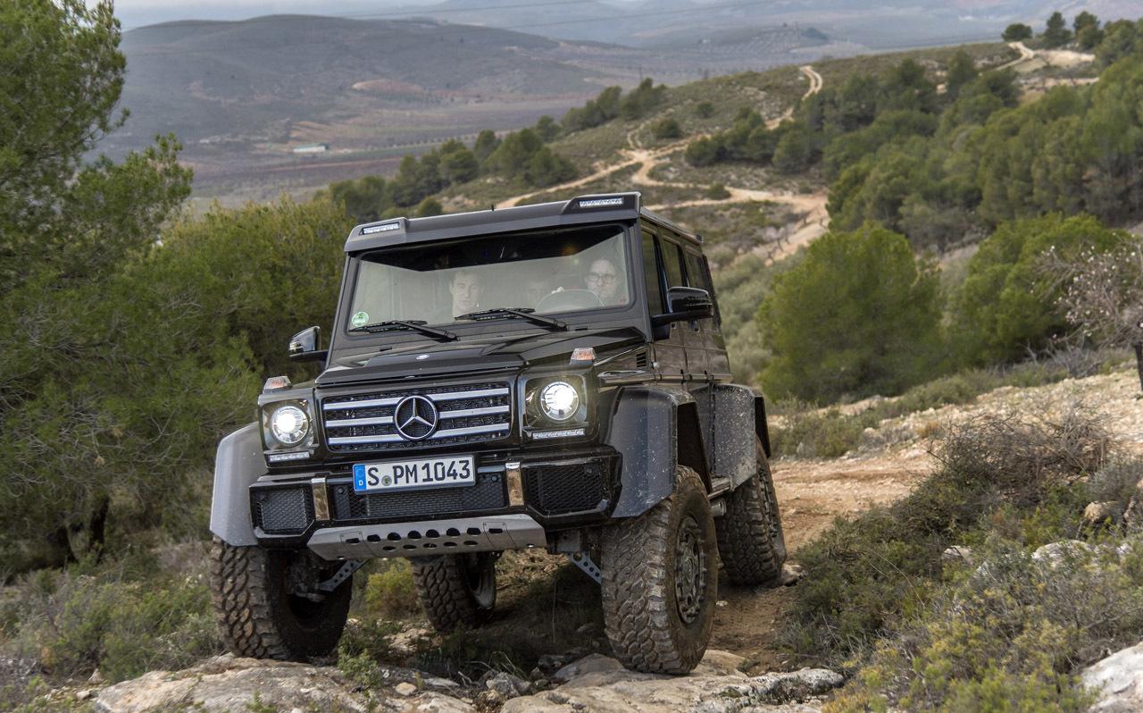 Foto de Mercedes-Benz G 500 4x4², toma de contacto (105/127)