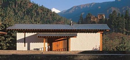 Amankora Resort como destino de lujo en Bhutan: cinco hoteles para un trekking circular