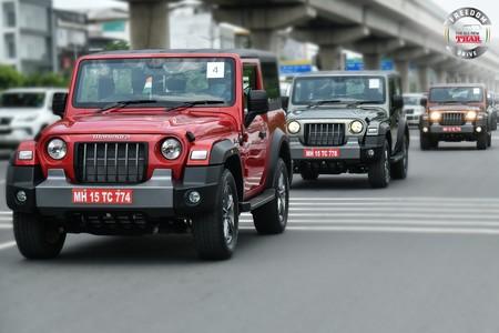 Mahindra presenta su propio Jeep Wrangler con el lanzamiento del Thar, una 'copia' legal del mítico 4x4