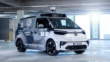Volkswagen ID. BUZZ AD: el anticipo de la furgoneta autónoma que llegará a Hamburgo en 2025
