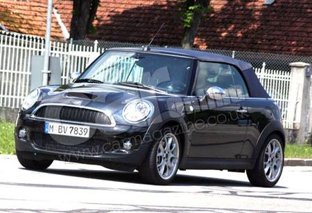 Fotos espía del MINI Cabrio 2009