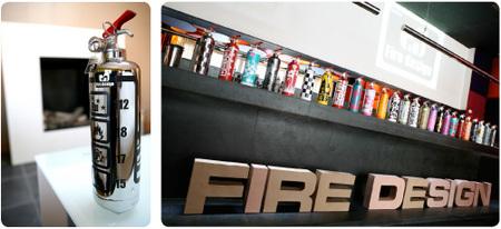 Seguridad y diseño: extintores a la última